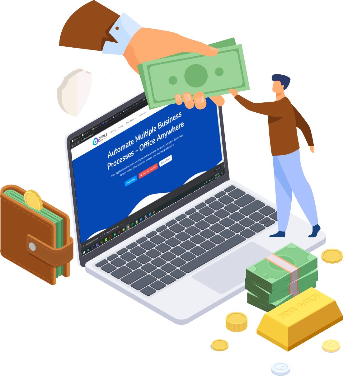 Petty Cash Software Online Application, Features