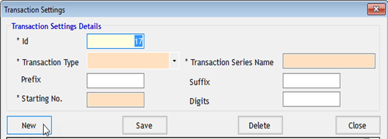 Enter the Transaction Details in GST Billing Software
